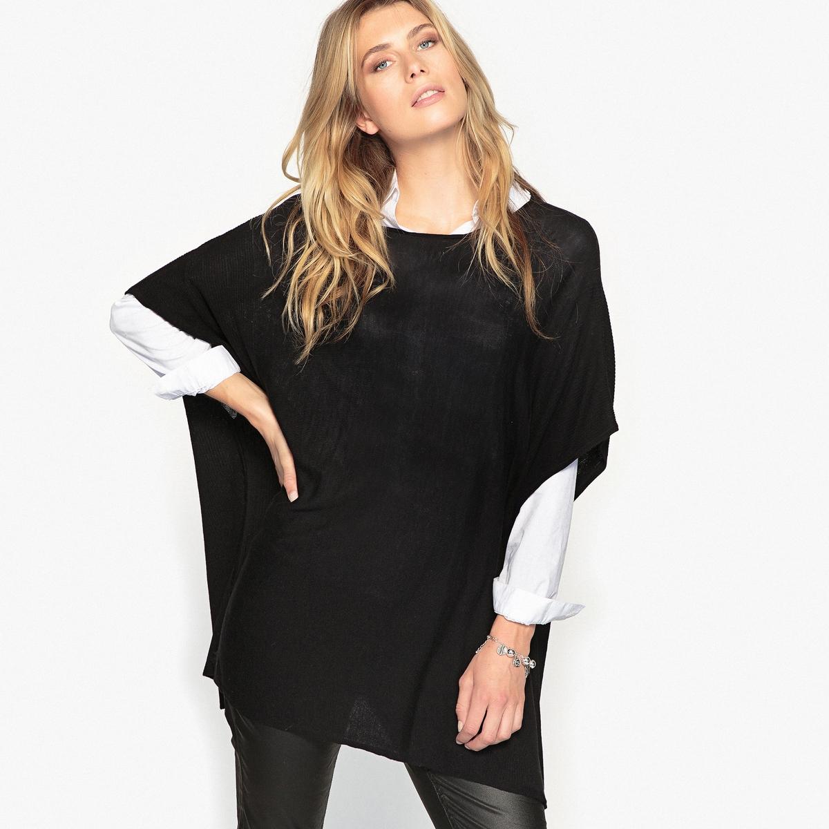 Пуловер в форме пончо ANNE WEYBURN