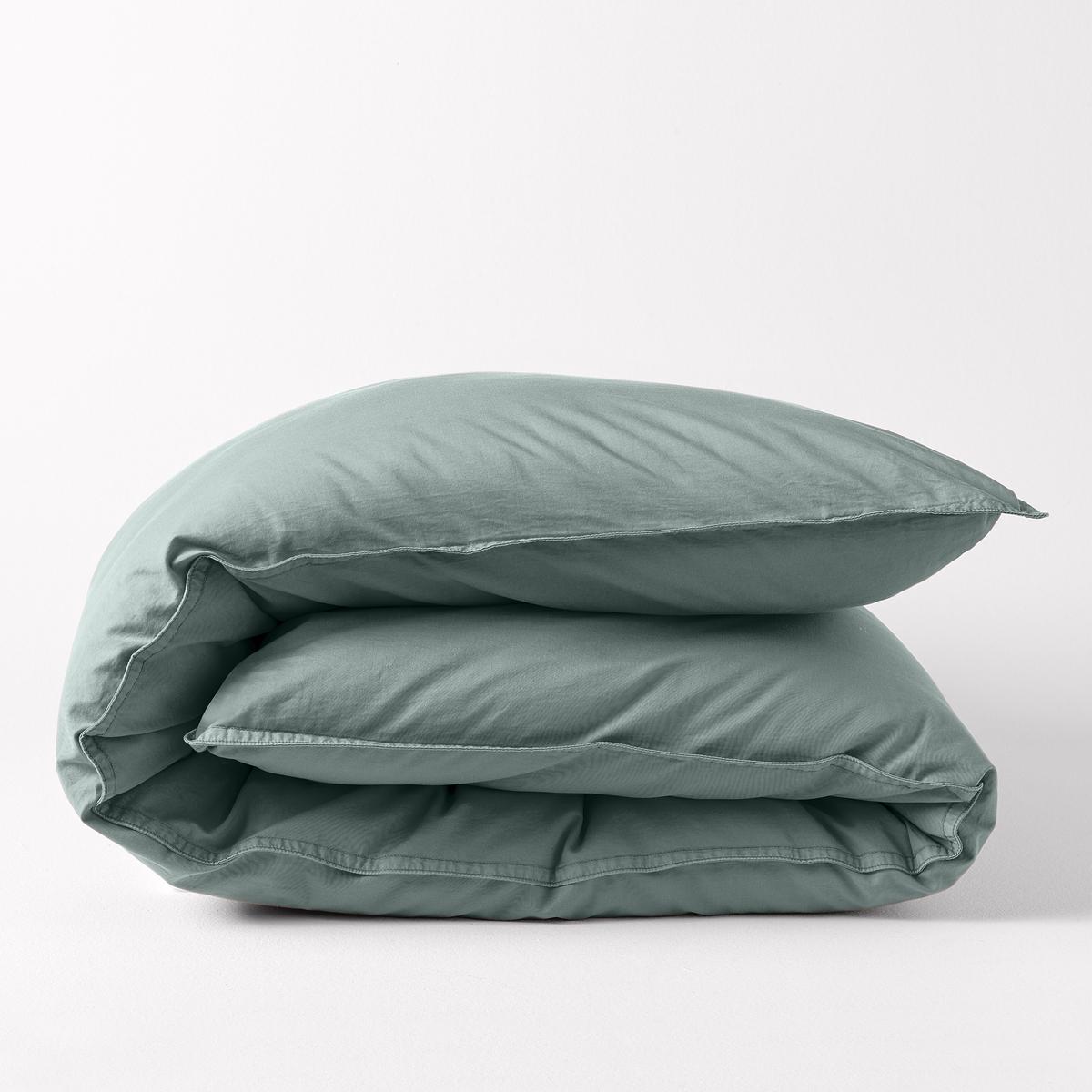 Пододеяльник YvonniРазмеры: 140 x 200 см : 1-спальный.200 х 200 см : 1-2-спальный.240 х 220 см : 2-спальный.- 260 х 240 см : 2-спальный.<br><br>Цвет: мандариновый,серо-зеленый<br>Размер: 260 x 240  см