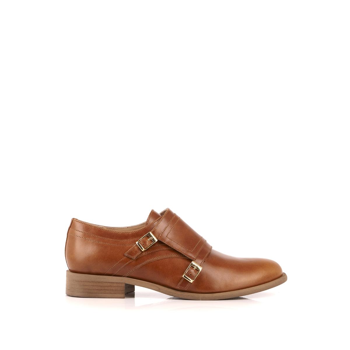 Ботинки-дерби кожаные Chaloupi ботинки дерби под кожу питона