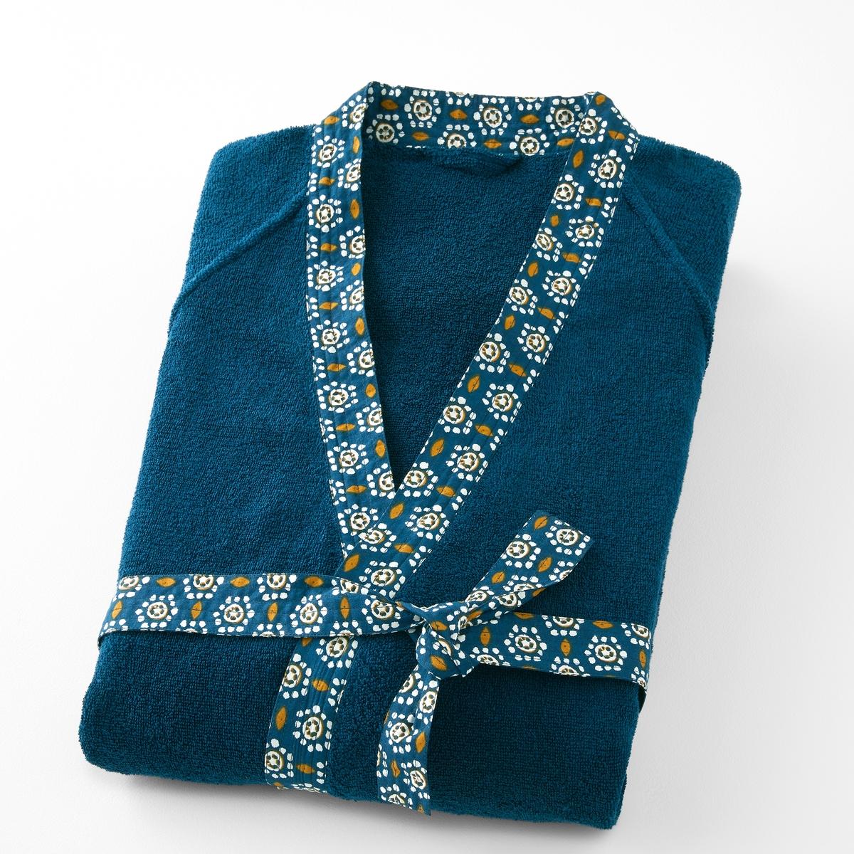 Пеньюар-кимоно из махровой ткани ORIANE пеньюар кимоно