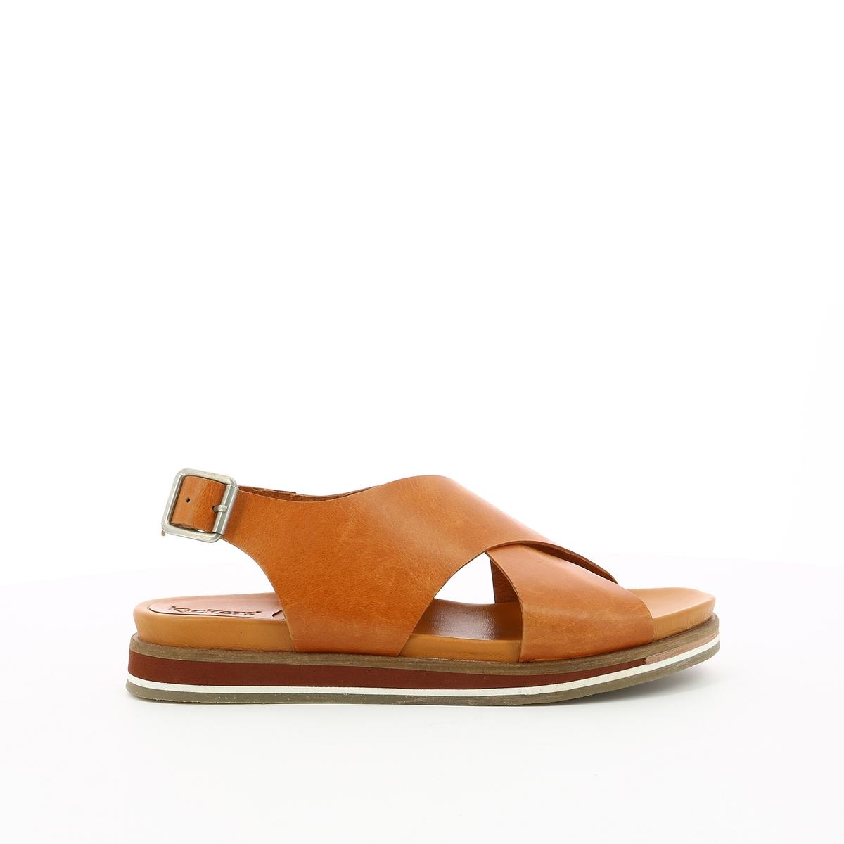 Imagen principal de producto de Sandalias de piel Océanie - Kickers