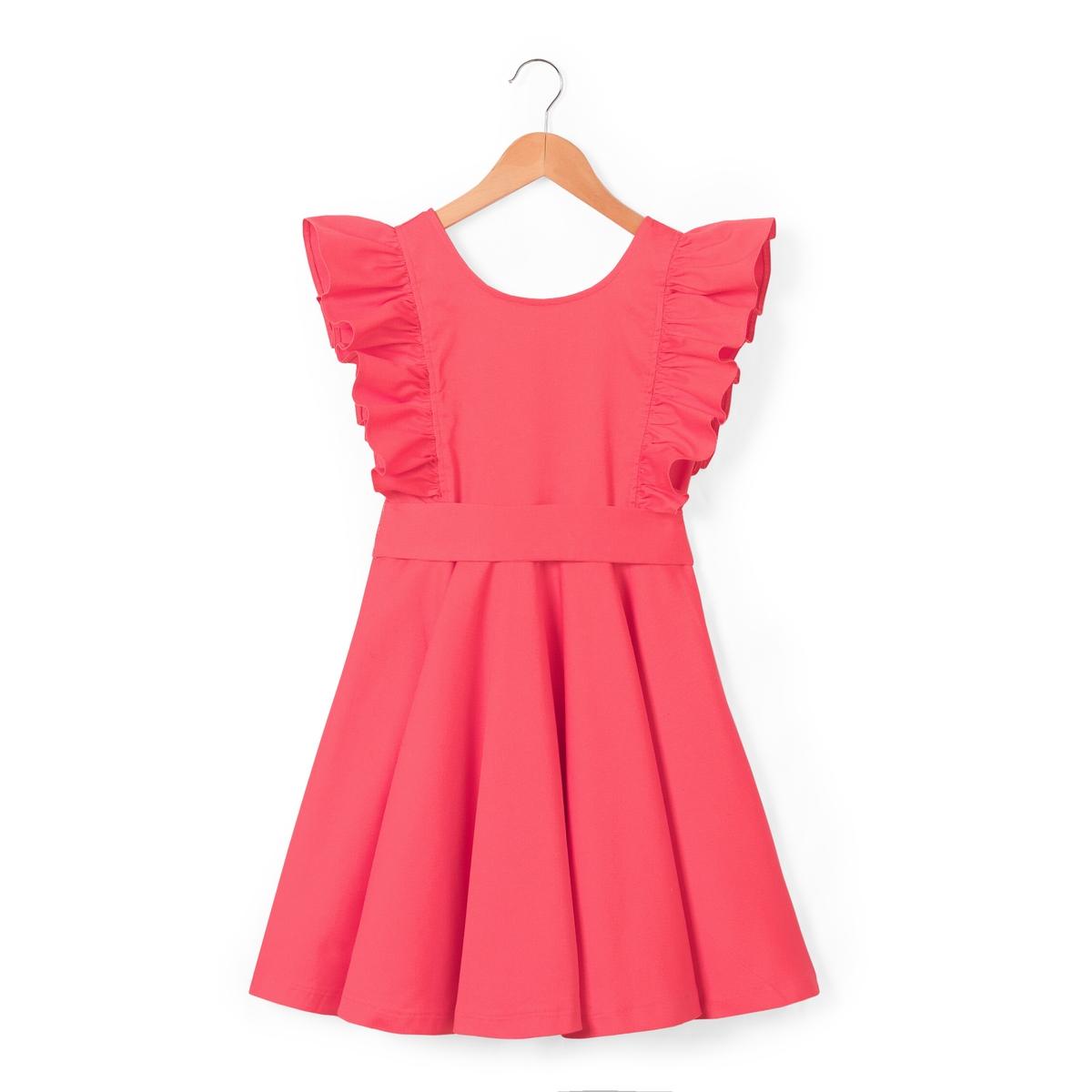 Платье без рукавов для торжества 3-10 лет