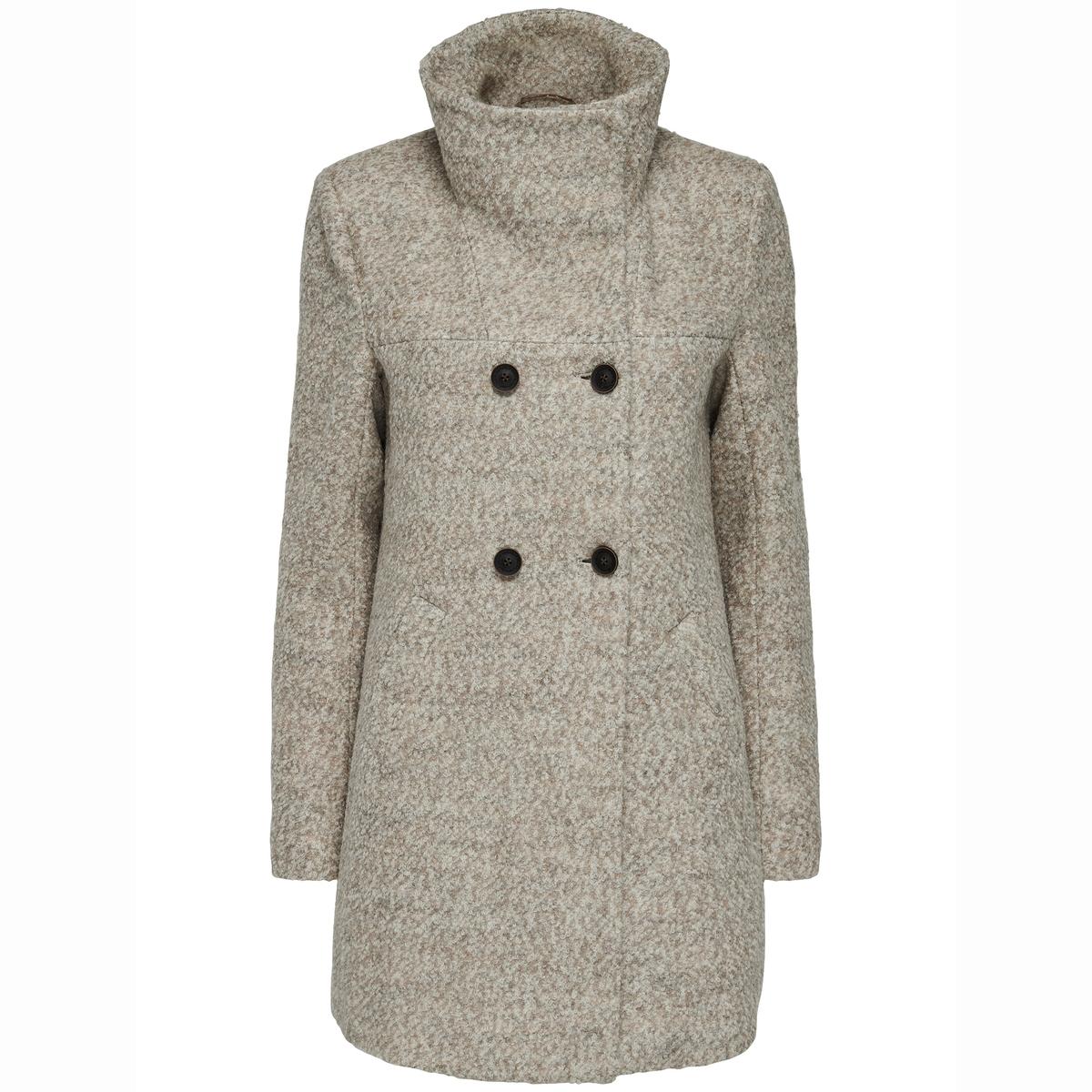 Пальто длинное, букле New Sophia