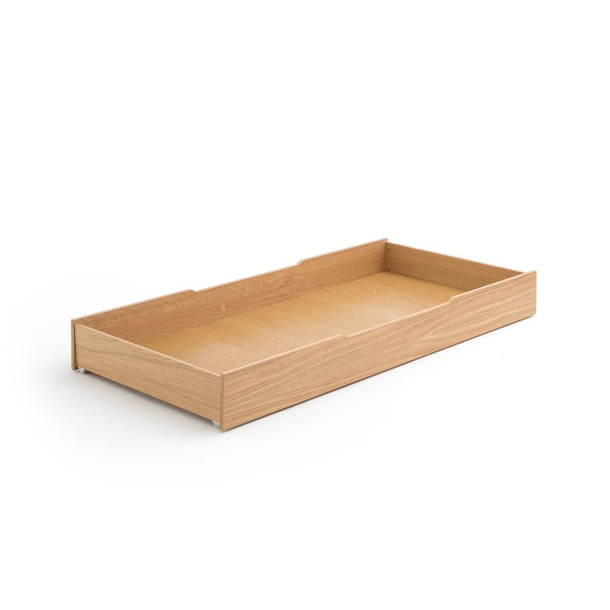 Кровать-ящик LaRedoute Alceste единый размер каштановый