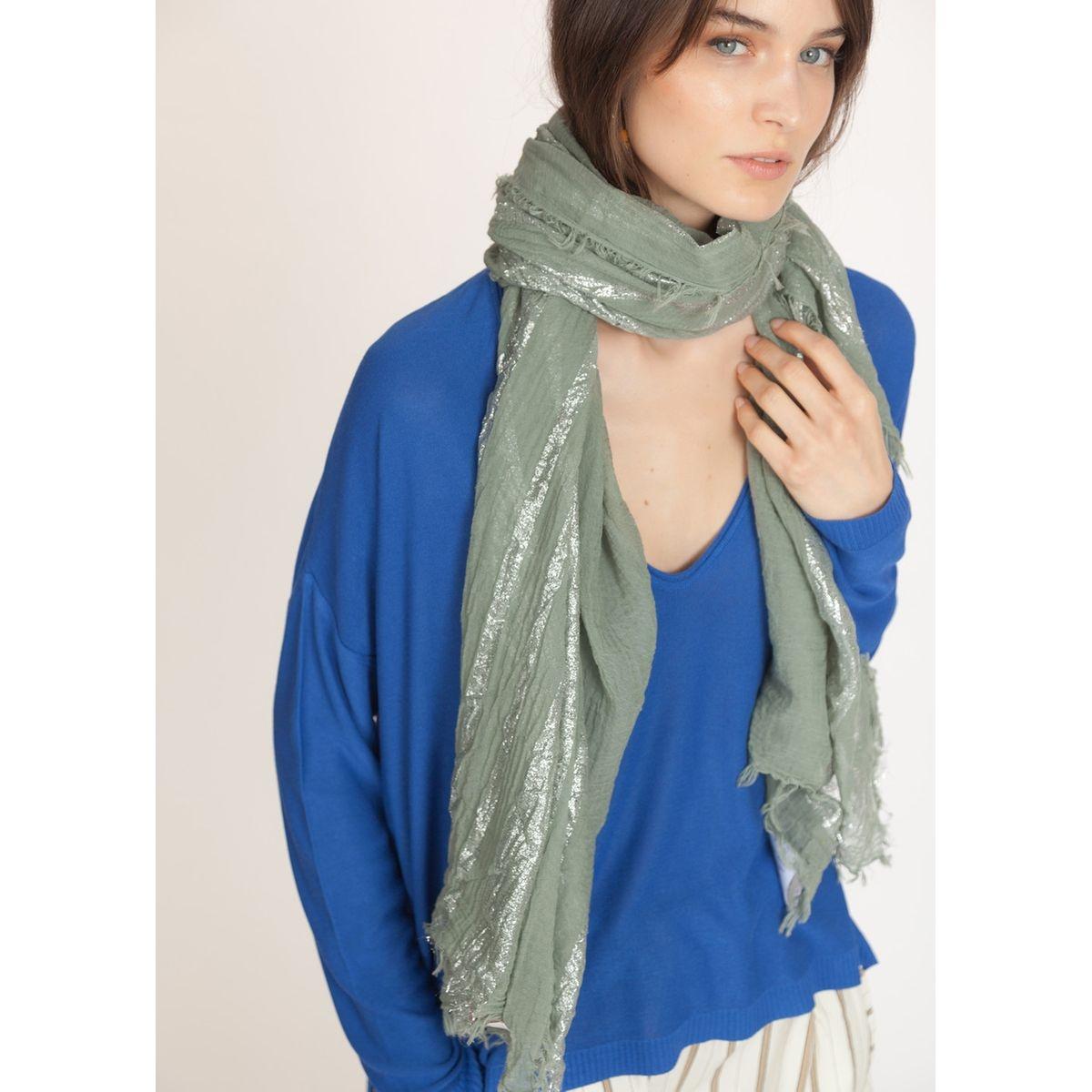 Foulard rayures Fil textile