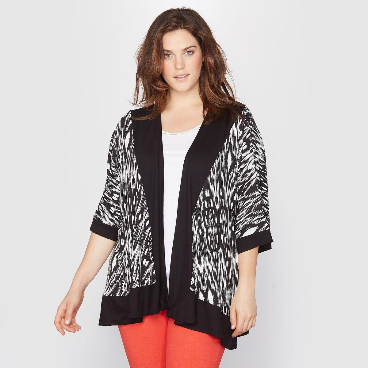 Gilet manches kimono