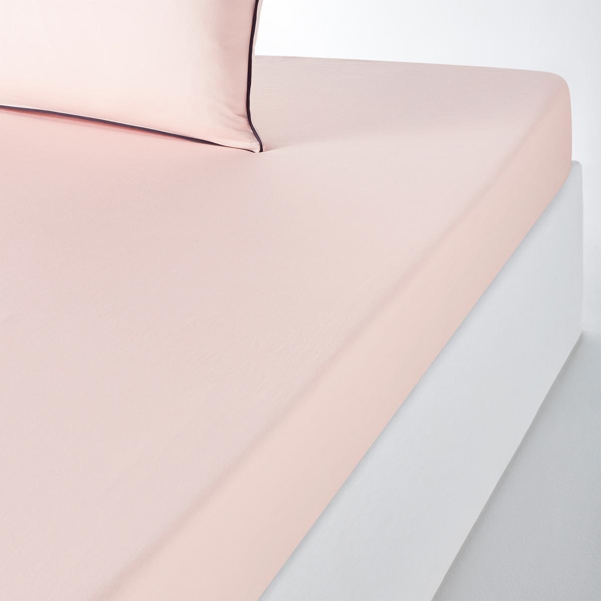 Lençol-capa em cetim de algodão lavado, PAVONE