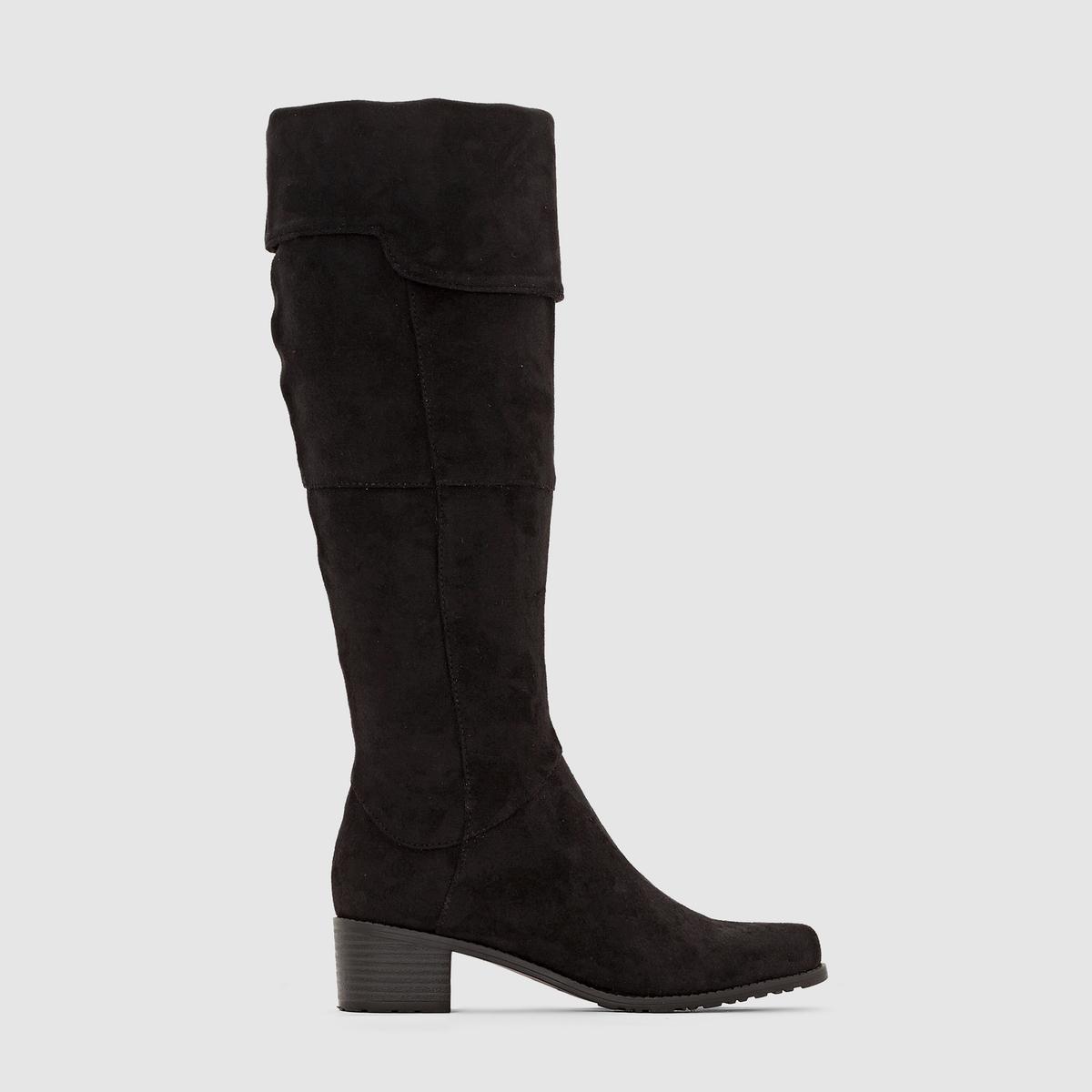 Сапоги высокие LES TROPEZIENNES COOLПреимущества : сапоги LES TROPEZIENNES с высоким голенищем, в обновленном и весьма удачном стиле 70-х, прекрасно сочетающиеся с модной в этом сезоне одеждой.<br><br>Цвет: черный<br>Размер: 37