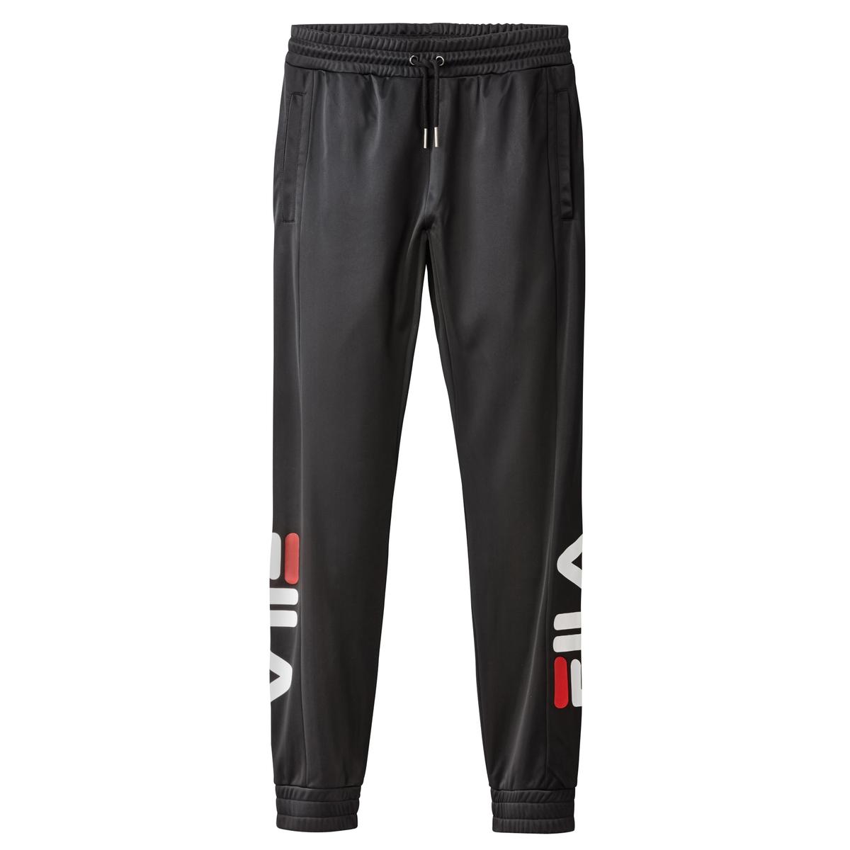Брюки спортивныеДетали •  Спортивные брюки •  Стандартная высота поясаСостав и уход •  100% полиэстер •  Следуйте советам по уходу, указанным на этикетке<br><br>Цвет: черный