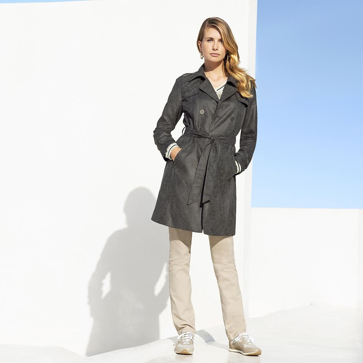 Imagen adicional 3 de producto de Pantalón recto de 5 bolsillos de algodón stretch - Anne weyburn