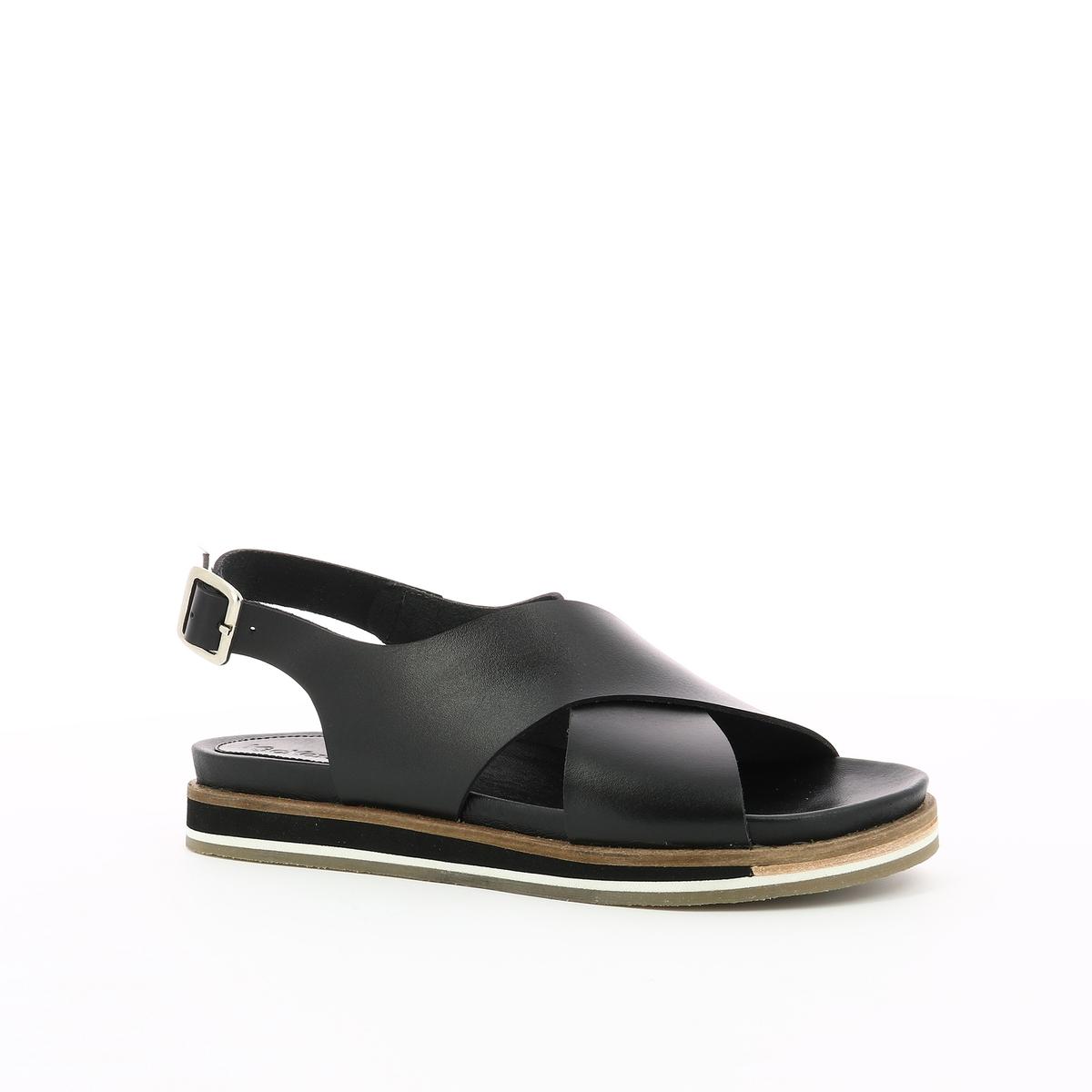 Imagen adicional 2 de producto de Sandalias de piel Océanie - Kickers