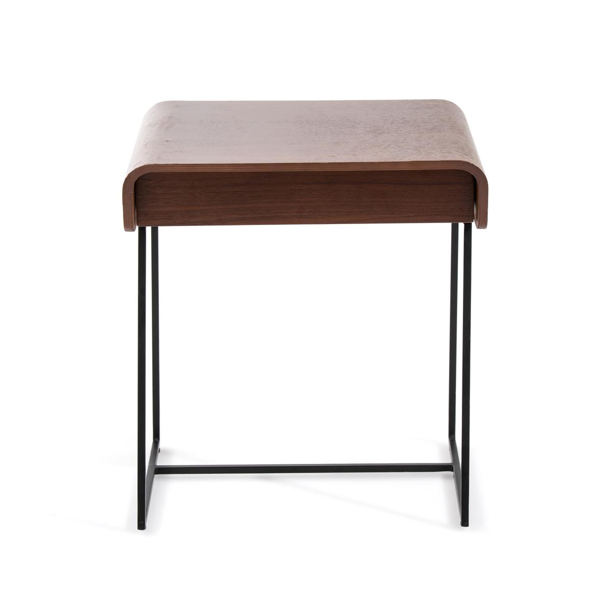 Столик La Redoute Прикроватный с ящиком Bardi дизайн Э Галлины единый размер каштановый туалетный la redoute столик clairoy единый размер каштановый