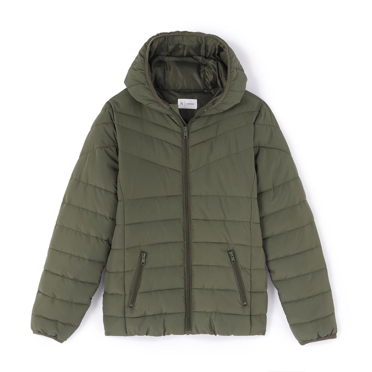 Куртка стеганая  капюшоном 10-16 лет