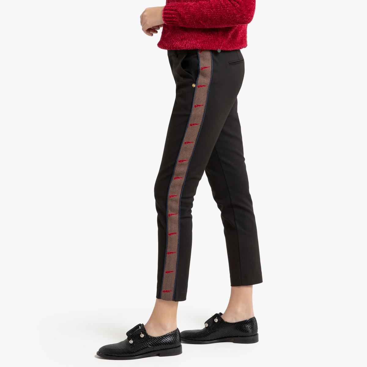 Брюки-дудочки La Redoute La Redoute M черный брюки женские sela цвет черный plg 115 901 9131 размер m 46