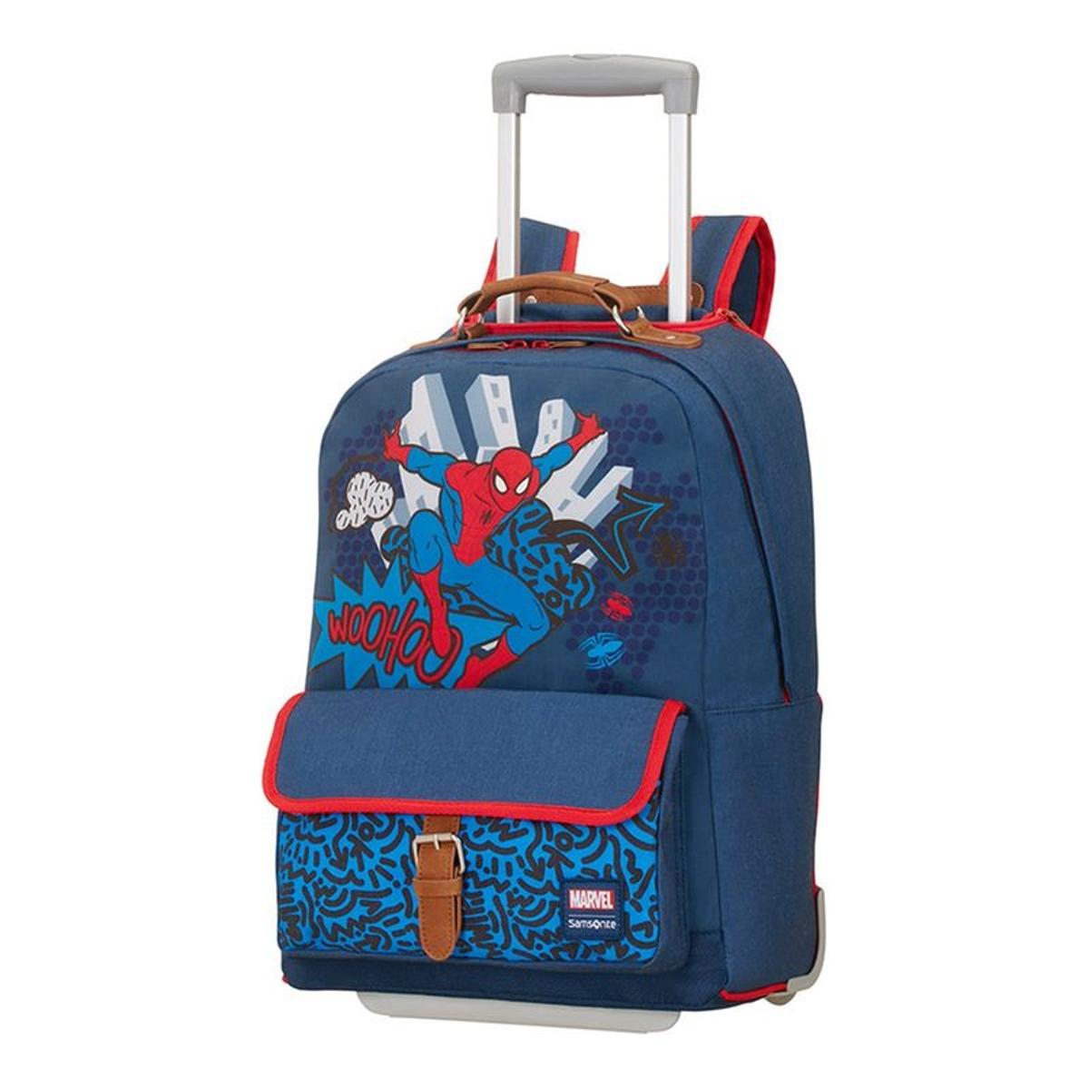 Spider-Man Sac à dos à roulettes