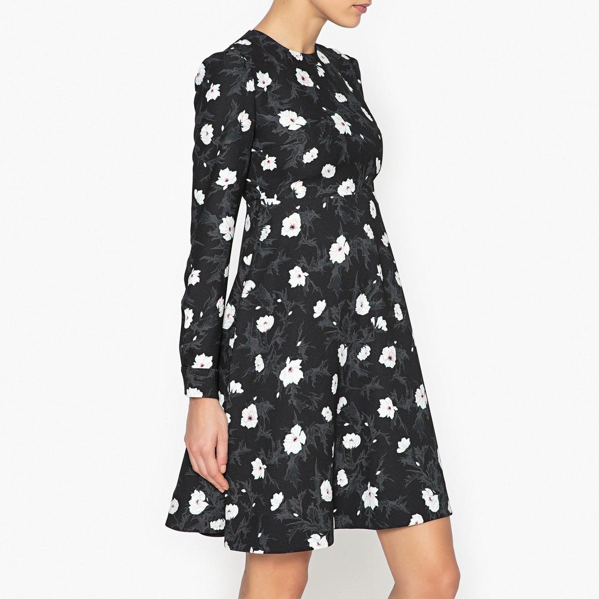 Платье с рисунком в стиле babydoll