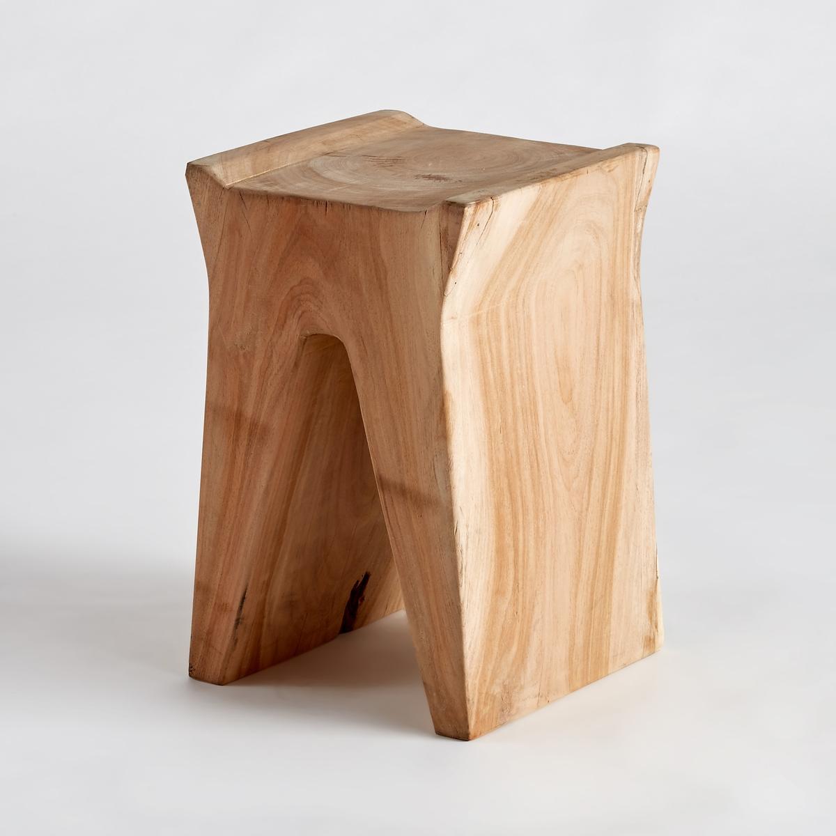 Диванный столик из акации, SeduwaХарактеристики :- Из массива акации. Массив дерева - это живой материал, который может изменить свой внешний вид и на котором могут со временем образоваться небольшие трещинки. Размеры :- диаметр 30 x высота 45 см<br><br>Цвет: серо-бежевый