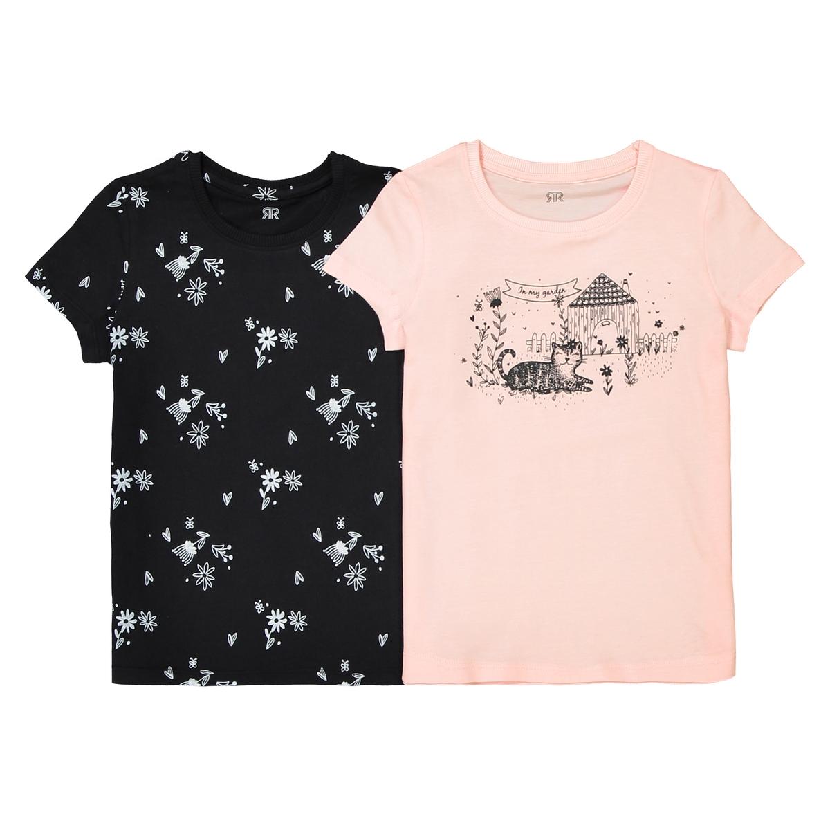 2 футболки с рисунком, 3-12 лет