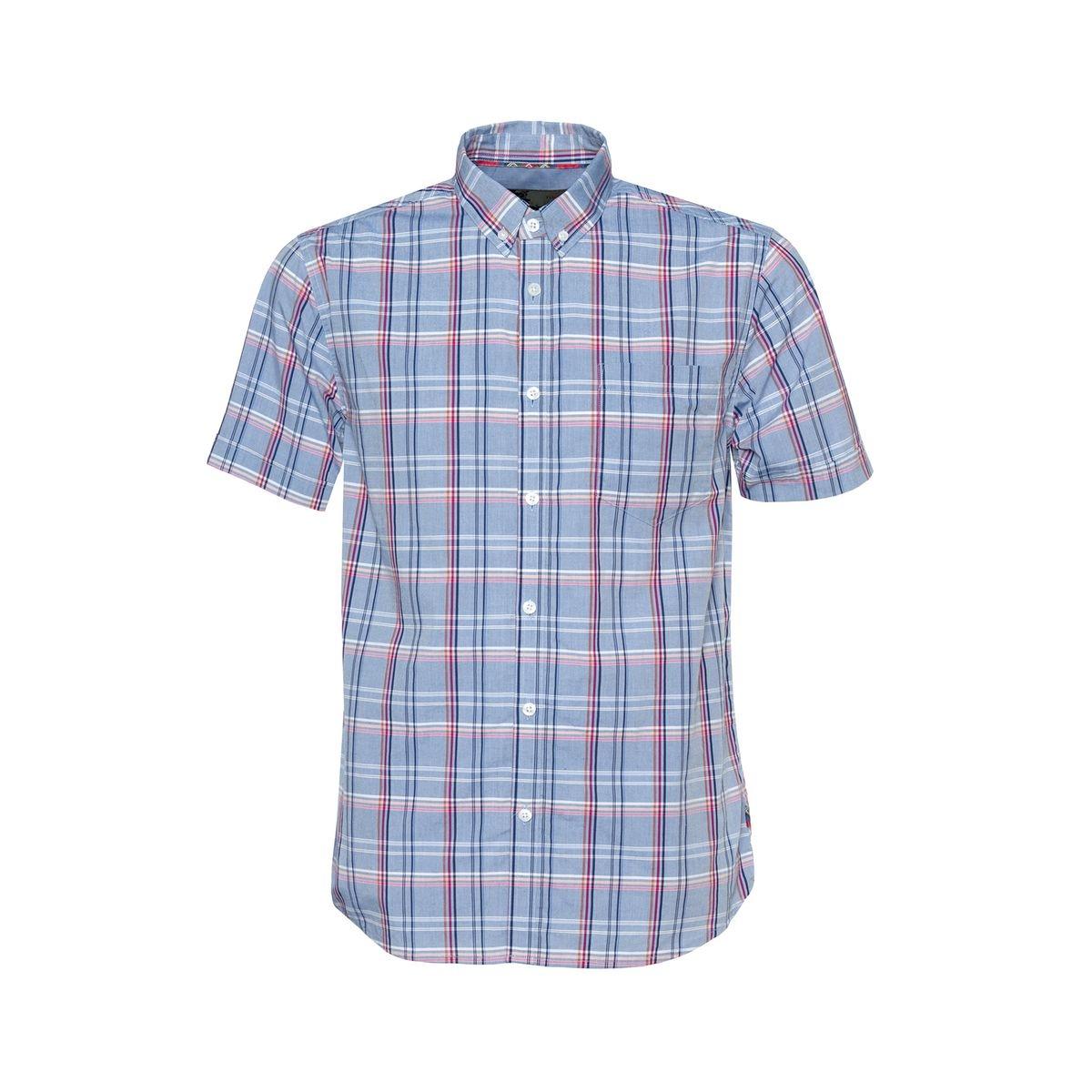 Chemise boutonnée à carreaux HELMSTAL