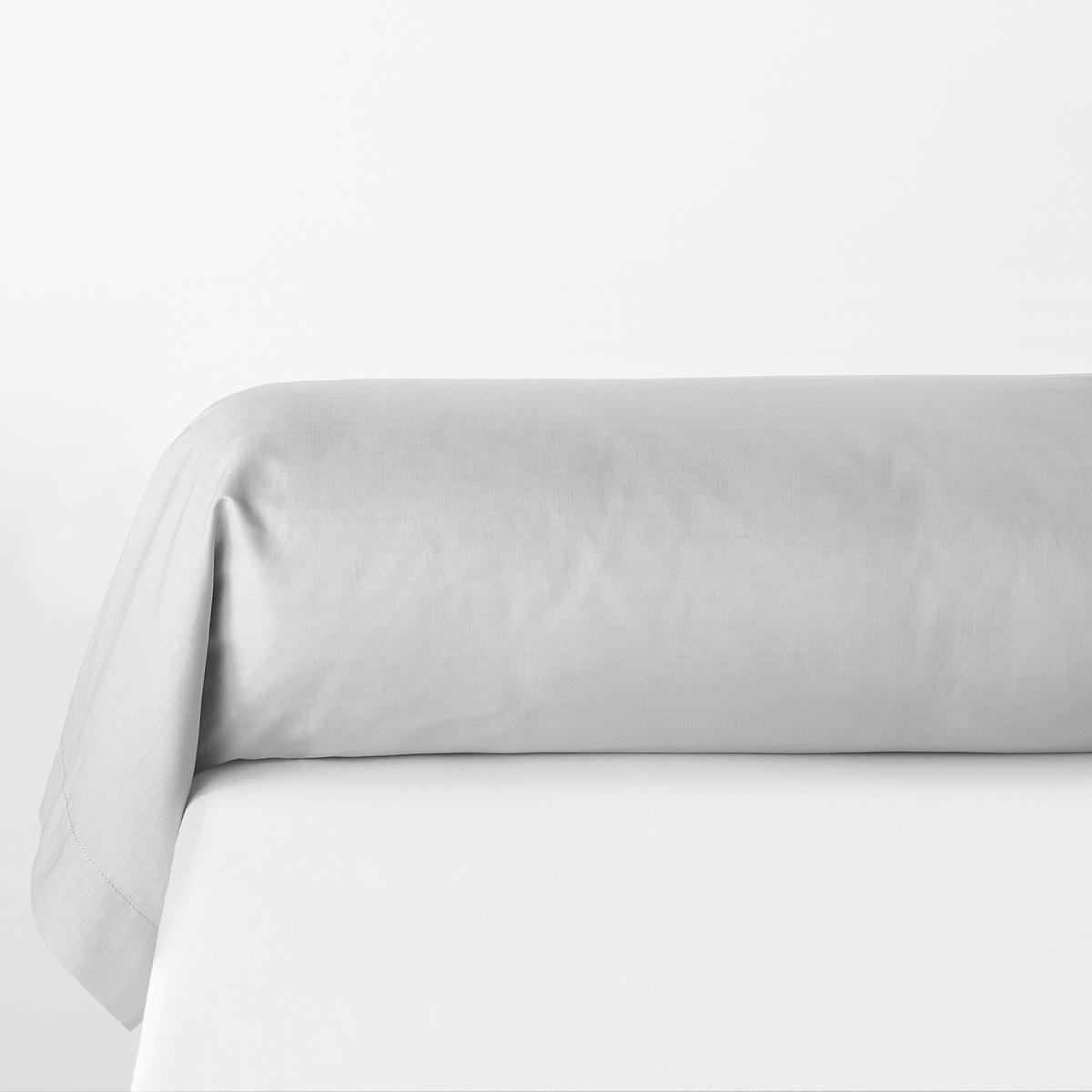 Наволочка La Redoute На подушку-валик из поликоттона SCENARIO 85 x 185 см серый чехол la redoute на подушку или подушку валик из хлопка scenario 40 x 40 см серый