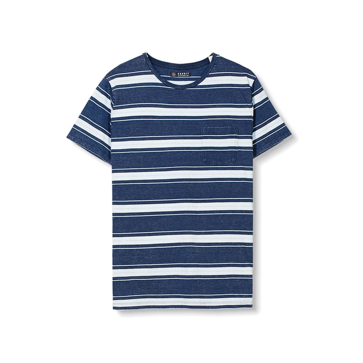 Футболка в полоску с круглым вырезом футболка esprit esprit es393egrhk82
