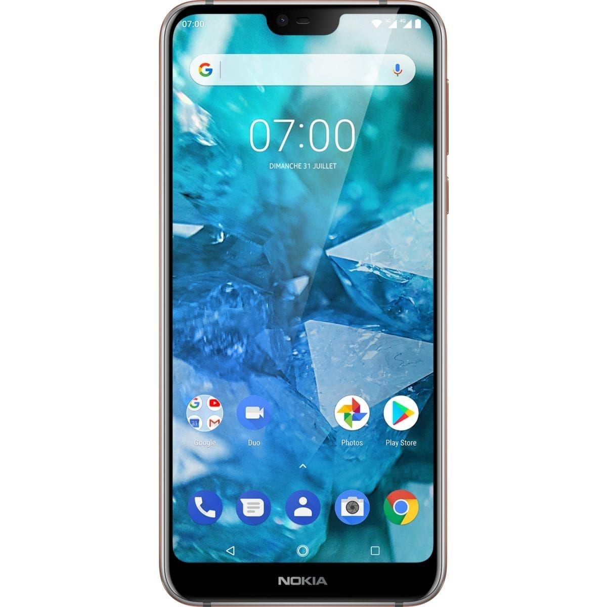 Smartphone NOKIA 7.1 Crystal Silver