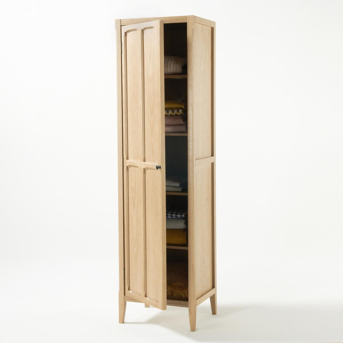 Шкаф LaRedoute С 1 дверцей Eugnie единый размер каштановый