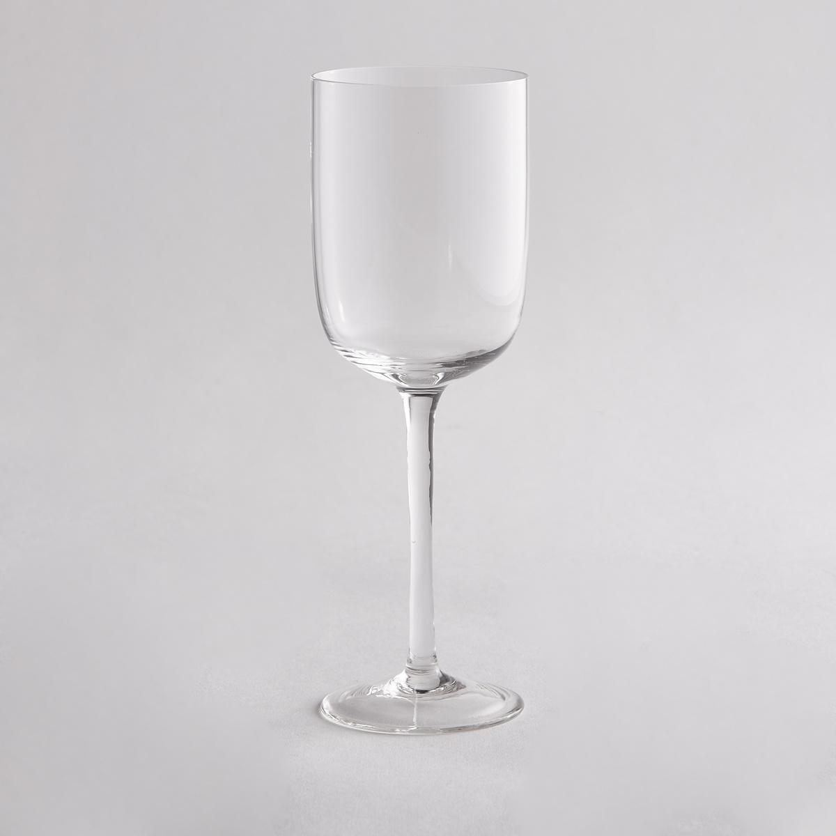 4 бокала для красного вина4 бокала для красного вина La redoute Int?rieurs  . Изысканный дизайн, который придется вам по вкусу.  Характеристики 4 бокалов для красного вина  :- Бокалы для красного вина с емкостью прямой формы  - Диаметр : 7,4 / 7 см- Высота : 22,2 см    - Подходят для мытья в посудомоечной машине- В комплекте 4 бокала<br><br>Цвет: прозрачный