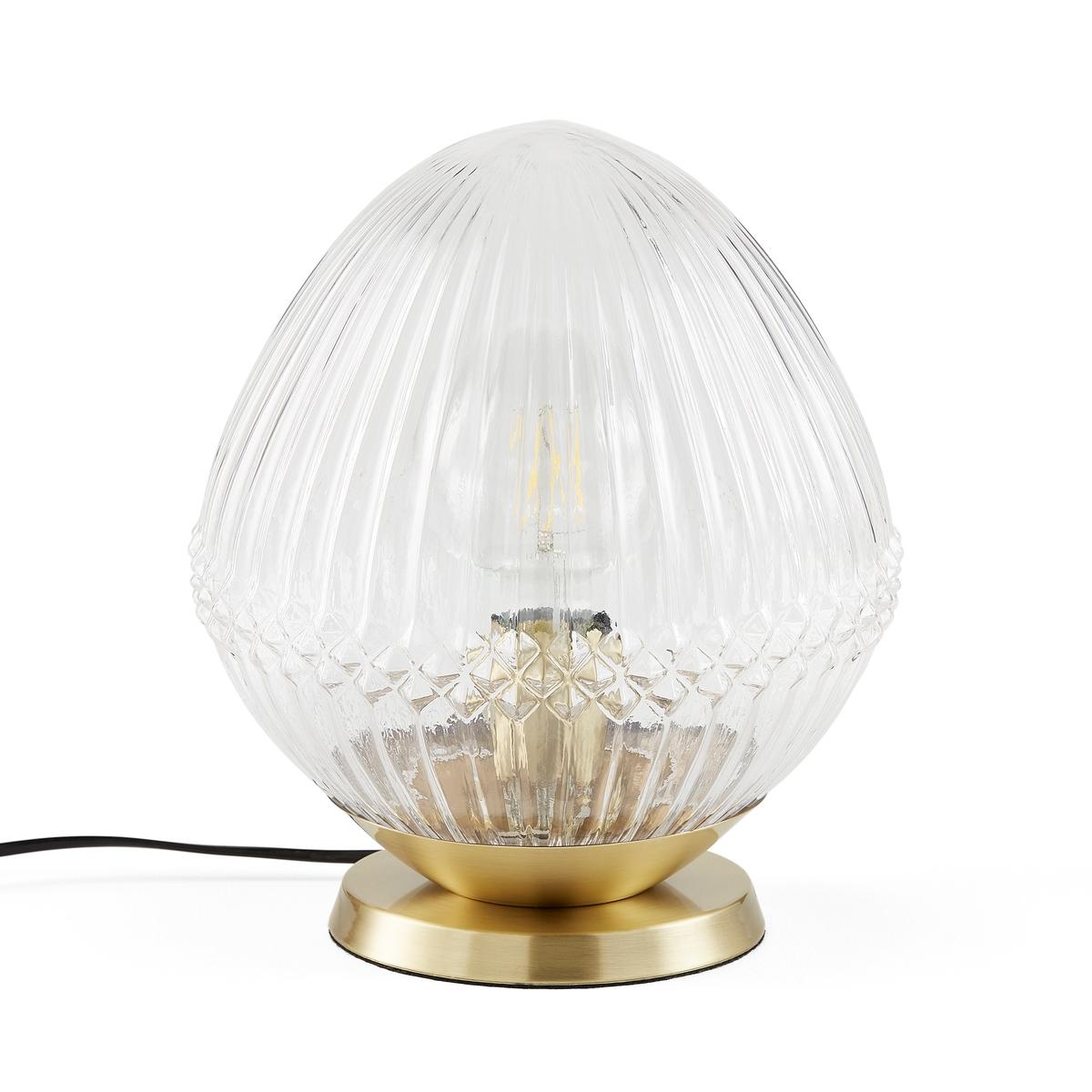 Лампа La Redoute Настольная из латуни и граненого стекла Ari единый размер другие