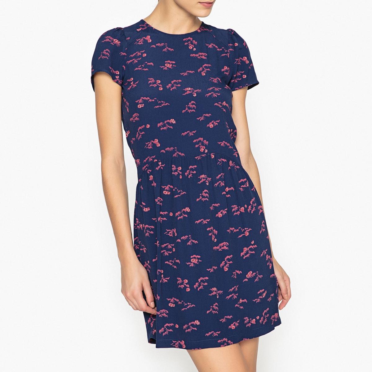 Платье с рисунком WAX KOKO