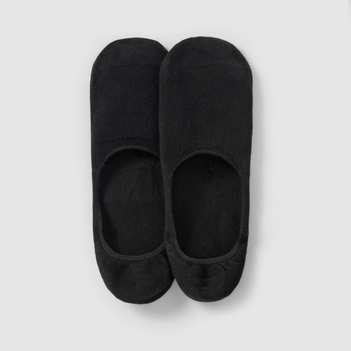 Носки Invisible, 2 парыСостав и описание: :Материал : 75% хлопка, 23% полиамида, 2% эластана.Марка : ESPRIT.<br><br>Цвет: бежевый,белый