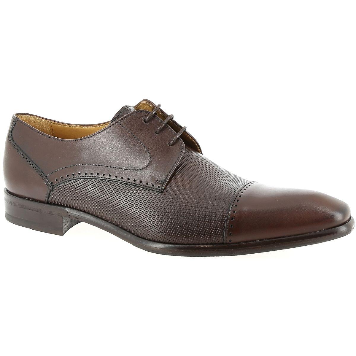 Chaussures à lacets cuir