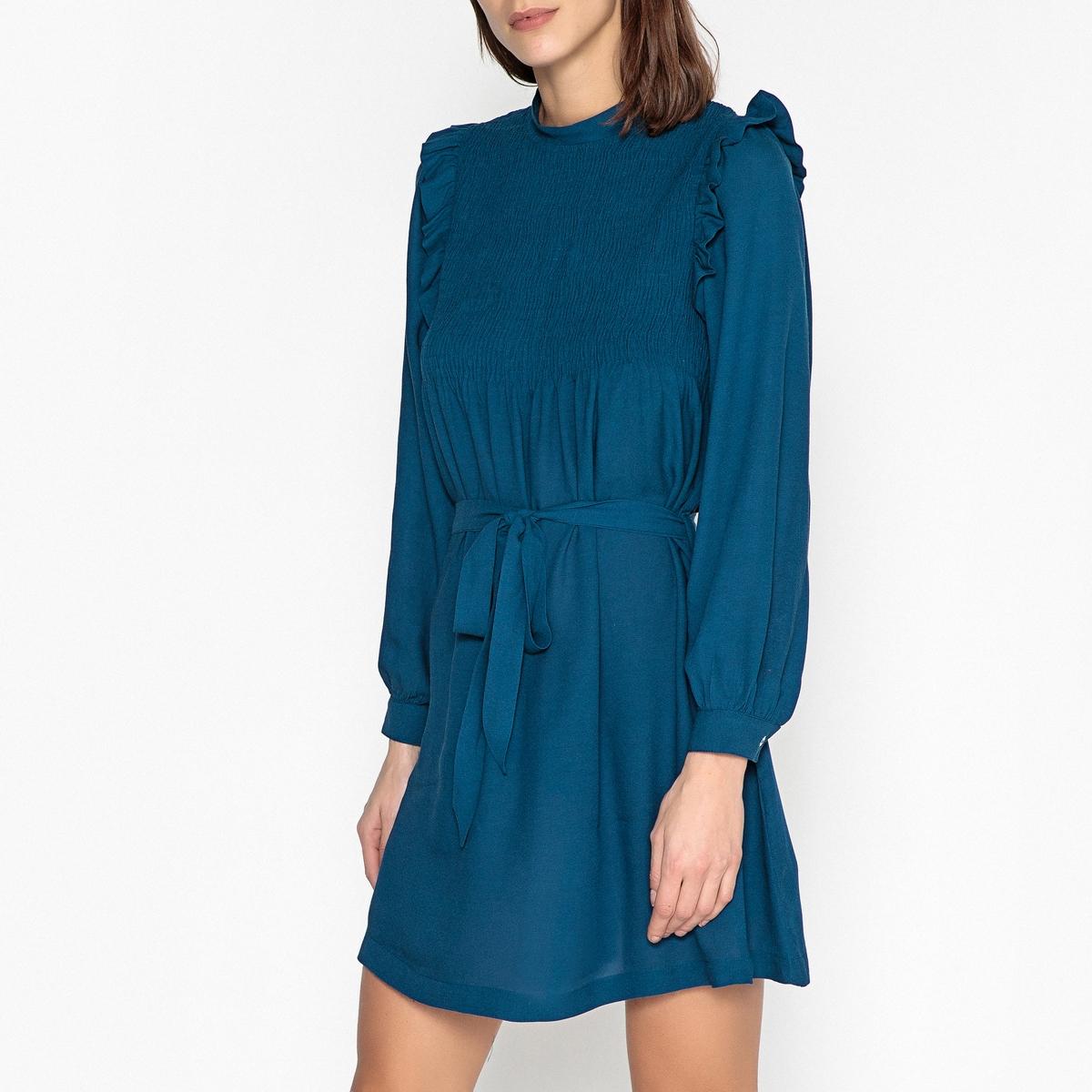 Платье с оборками ROSSIGNOL chapurin шелковое платье с оборками