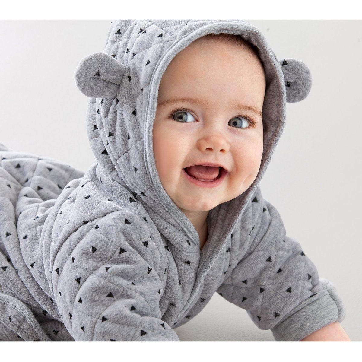 Combinaison bébé à capuche 0 mois-12 mois