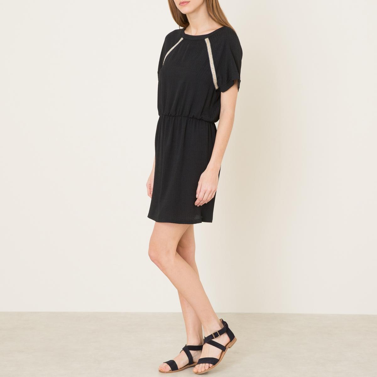 Платье ANNIE CHRISTIANСостав и описание    Материал : 71% вискозы, 29% полиэстера   Марка : SESSUN<br><br>Цвет: черный