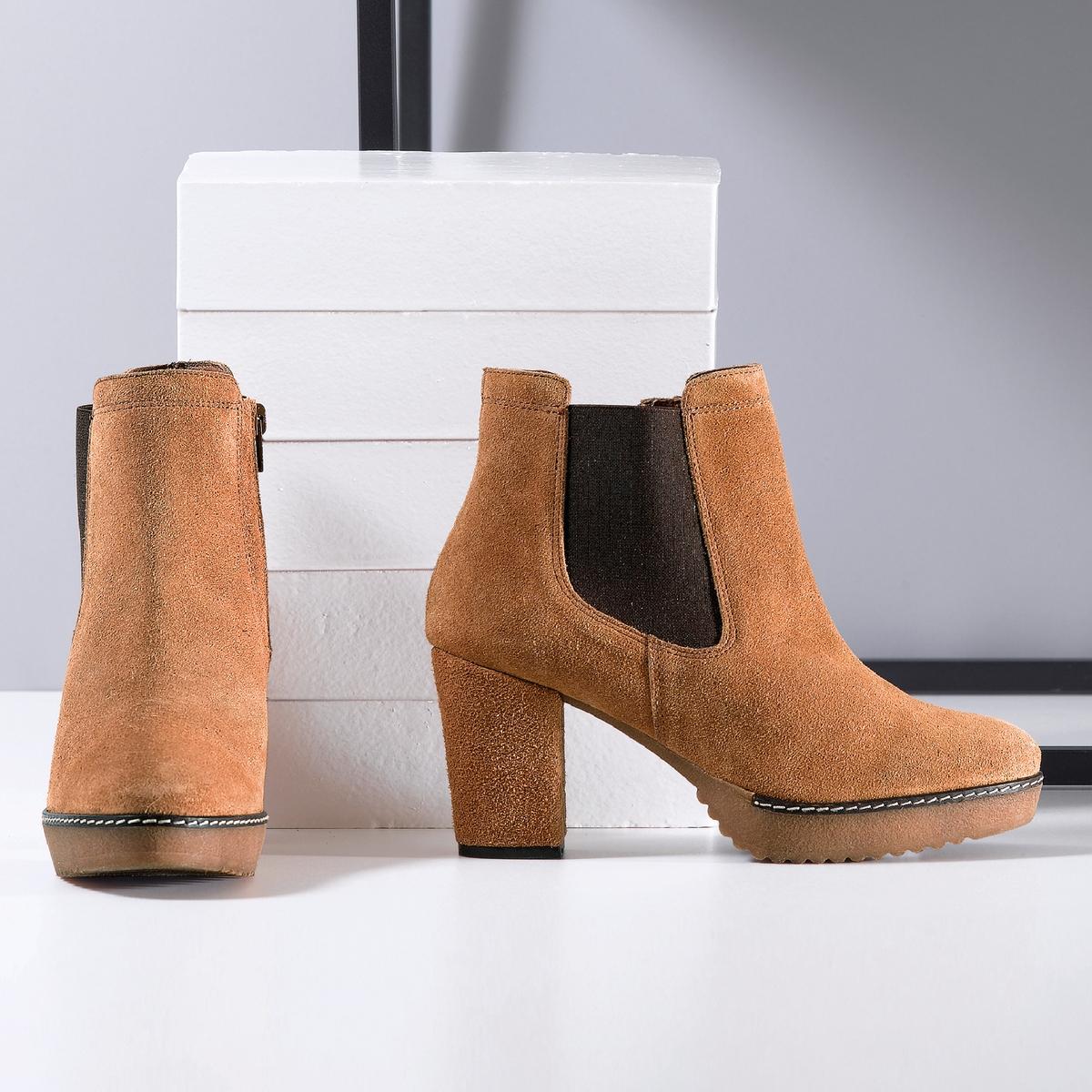 Ботильоны из спилка, размер 38-45 ботинки из спилка 26 40