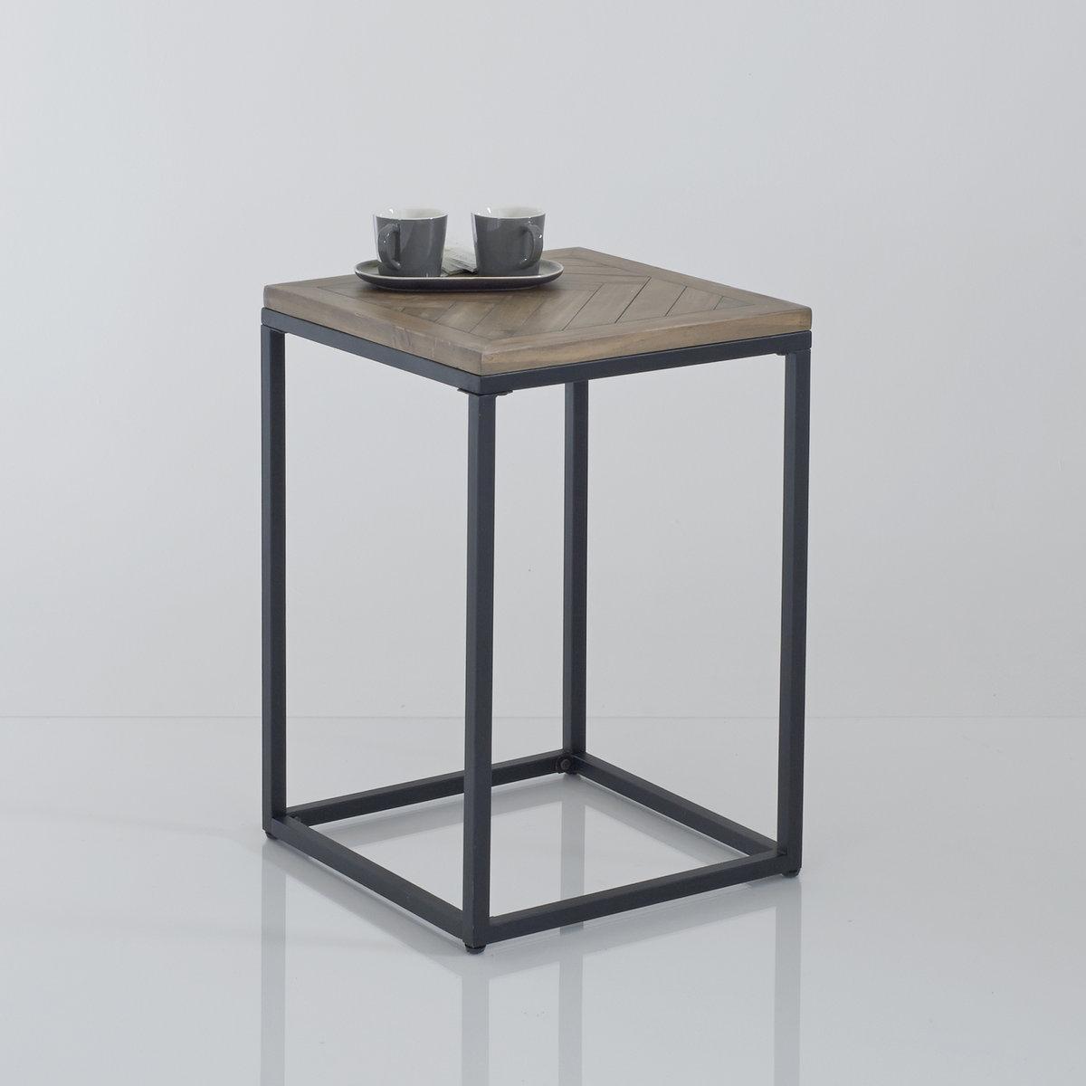 Столик из металла и дерева, H высота 60 см, Nottingham столик из металла и дерева h высота 60 см nottingham