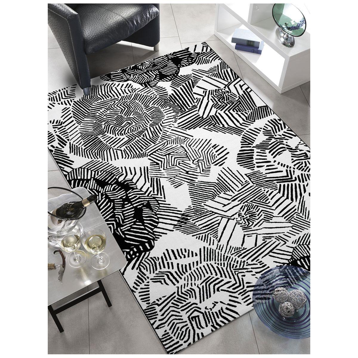 Tapis de Salon Moderne Design  ROSIA - polyester