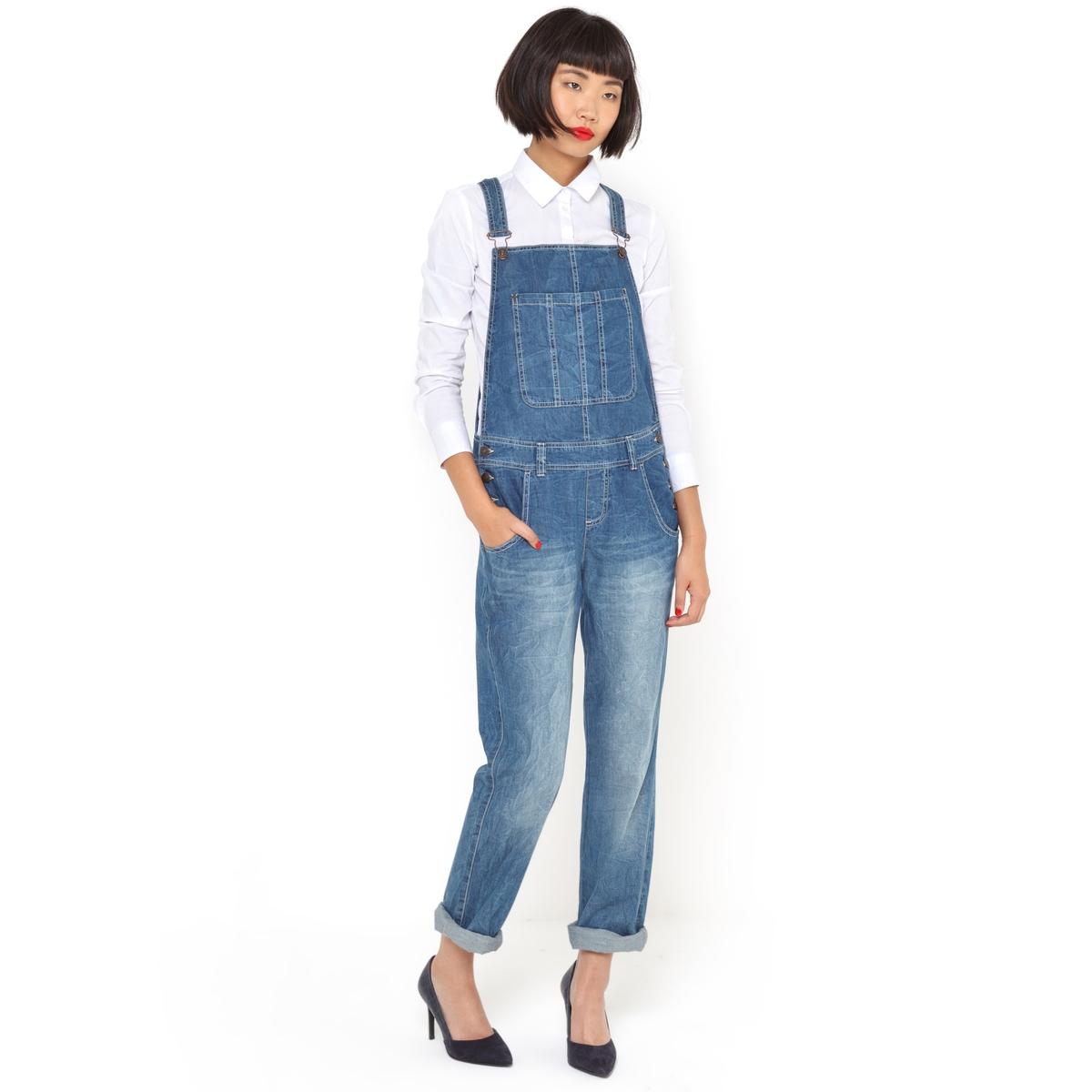 Комбинезон джинсовый, 100% хлопка