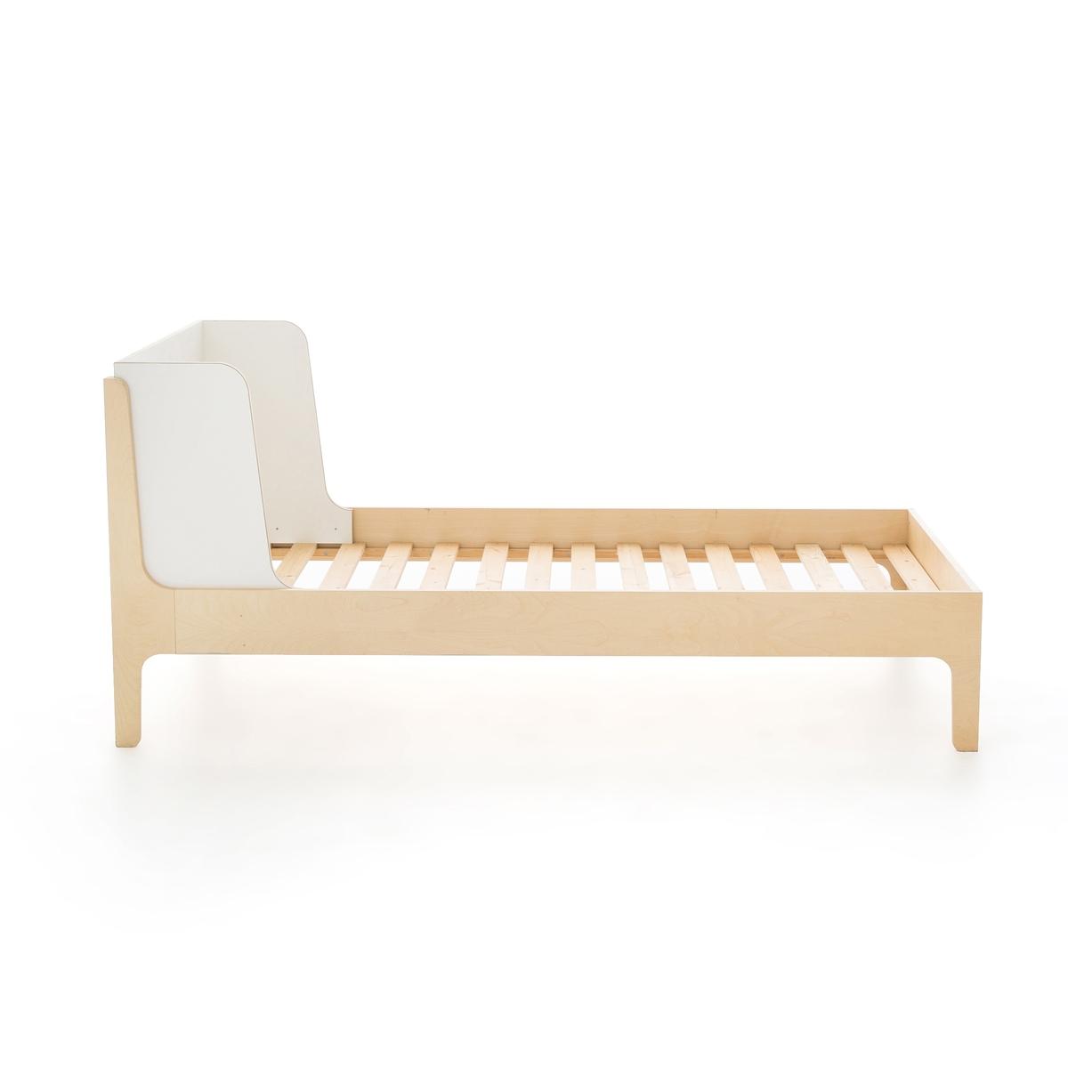 Кровать La Redoute Детская Irazu 90 x 190 см белый кровать la redoute детская из ротанга medo 90 x 190 см бежевый