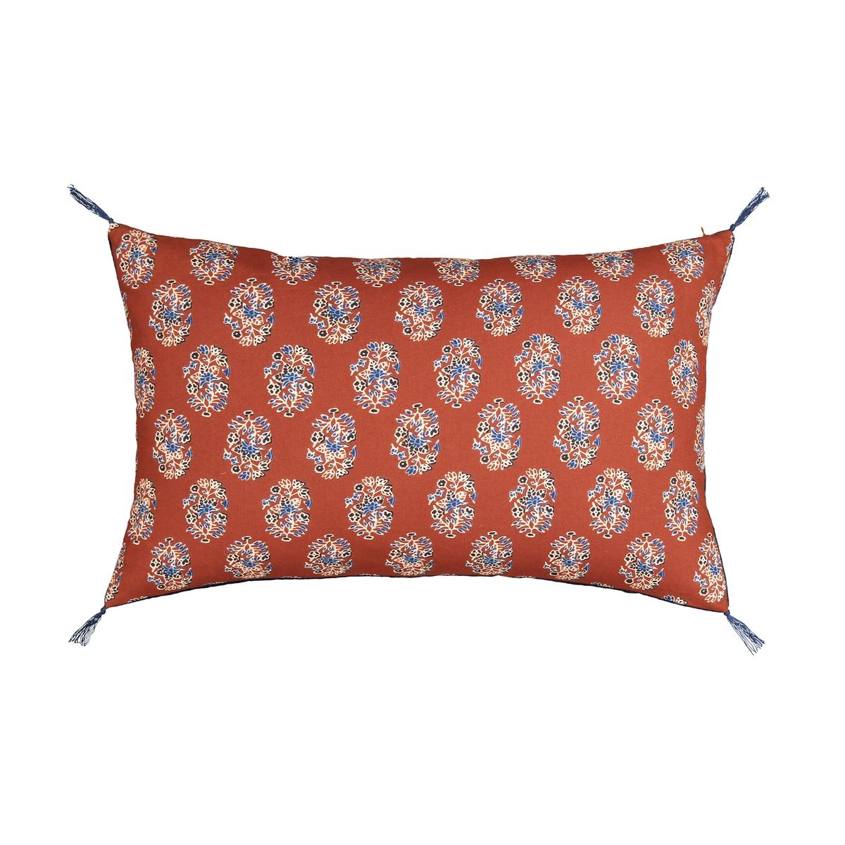 Наволочка La Redoute Из велюра Capana 60 x 40 см оранжевый покрывало la redoute из велюра capana 130 x 180 см оранжевый