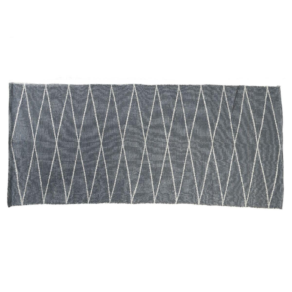 Tapis rectangulaire en PVC 180 x 120 cm motifs losanges - Jardideco