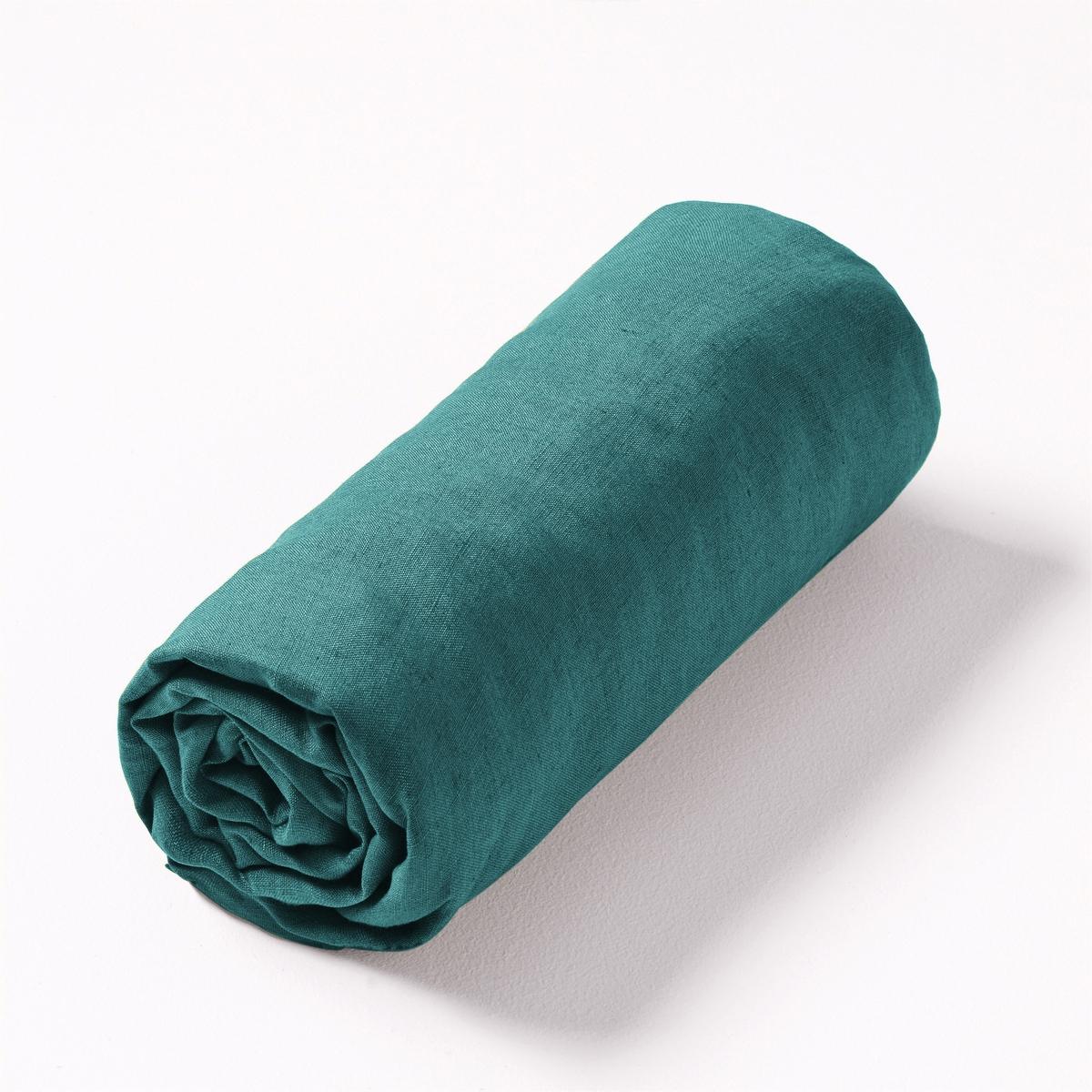 Простыня натяжная льняная Elina100% лен. Ткань с легким жатым эффектом не требует глажки, проста в уходе, становится более мягкой и нежной с течением времени.Состав :- 100% лен.Отделка :- Подходит для матраса толщиной 25 см.Уход :- Стирка при 40°.Размеры :90 x 190 см : 1-сп.140 x 190 см : 1-сп.160 x 200 см : 2-сп.180 x 200 см : 2-сп.Знак Oeko-Tex® гарантирует, что товары протестированы, сертифицированы и не содержат вредных для здоровья веществ.<br><br>Цвет: антрацит,белый,бледно-розовый,желтый карри,зеленый шалфей,красный карминный,лаймовый,розовый малиновый,розовый,светло-синий,серо-бежевый,серый,синий индиго,синий,темно-бирюзовый,темно-зеленый,темно-синий,тыквенный,цвет неокрашенного льна,ягодный<br>Размер: 160 x 200  см.160 x 200  см.180 x 200  см.160 x 200  см