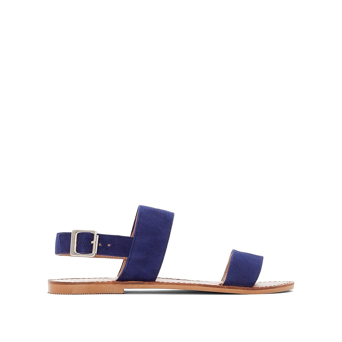 Босоножки кожаные на плоском каблуке цены онлайн