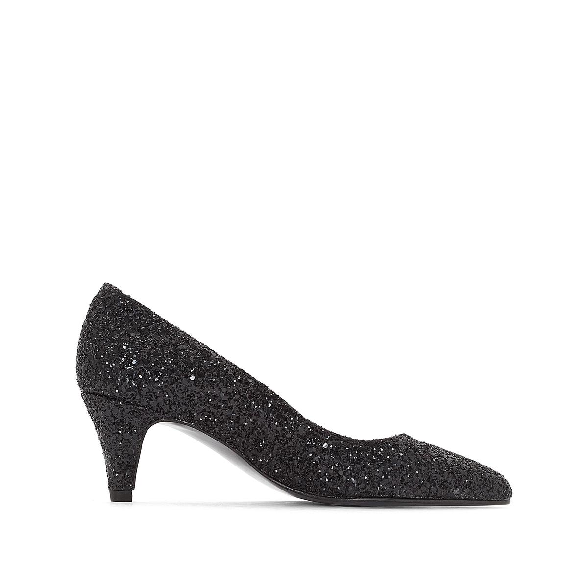 Туфли с блестками Dobi, эксклюзивная модель La Redoute от JONAK
