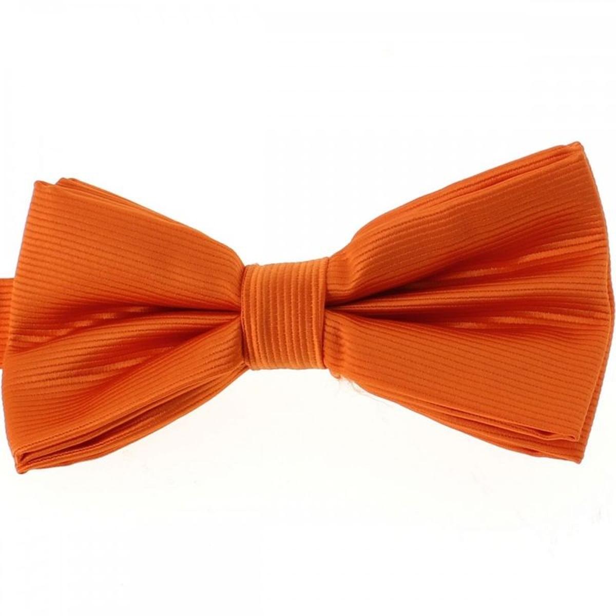 Noeud Papillon CLJ, Naveline, Orange vif