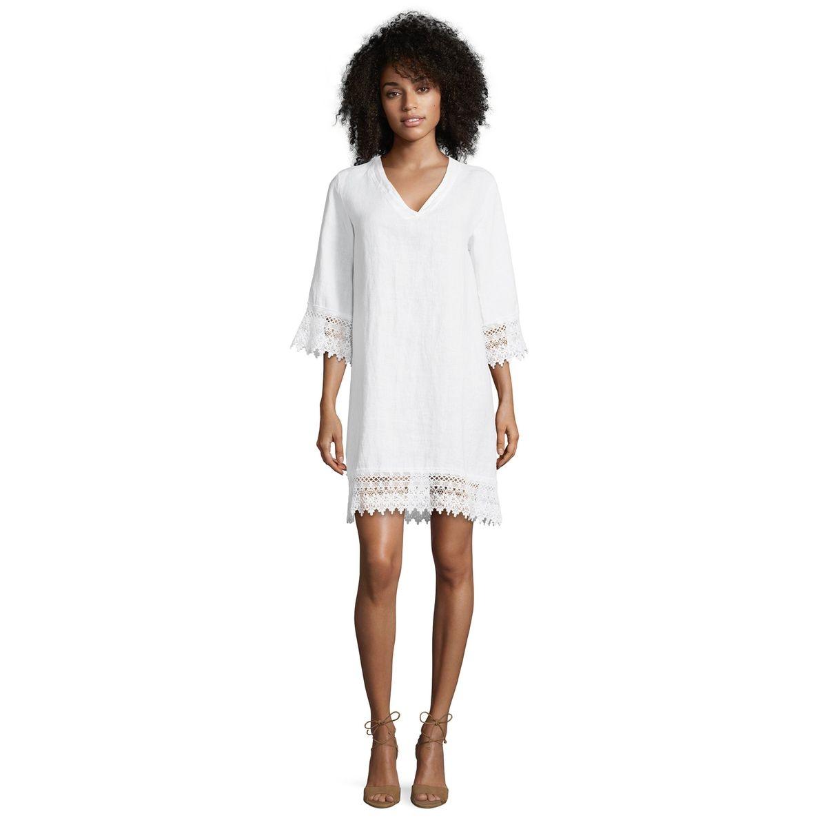 f40e89d590641c Robe tunique en dentelle 𝗽𝗮𝘀 𝗰𝗵𝗲𝗿 - Mes Fringues