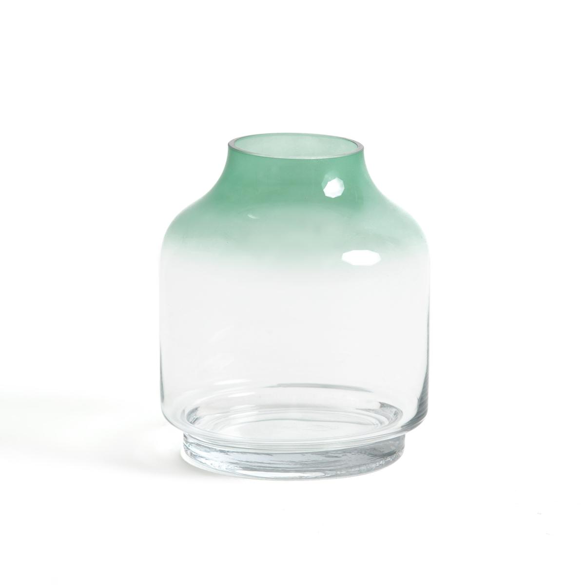 Ваза из цветного стекла, В.20 см, EPURВаза Epur с отличным сочетанием объема и прозрачности !Характеристики вазы La Redoute Int?rieurs :Ваза из стекла, верх зеленого цвета.Размеры вазы La Redoute Int?rieurs :? 17 смВысота 20 смОткройте для себя всю коллекцию декора на сайте laredoute.ru<br><br>Цвет: прозрачный/ зеленый