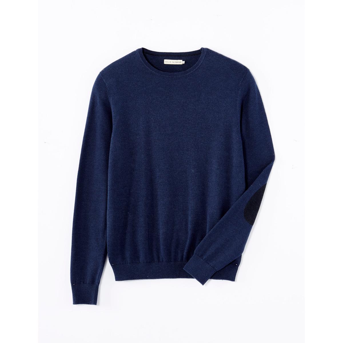 Пуловер с налокотниками Feria