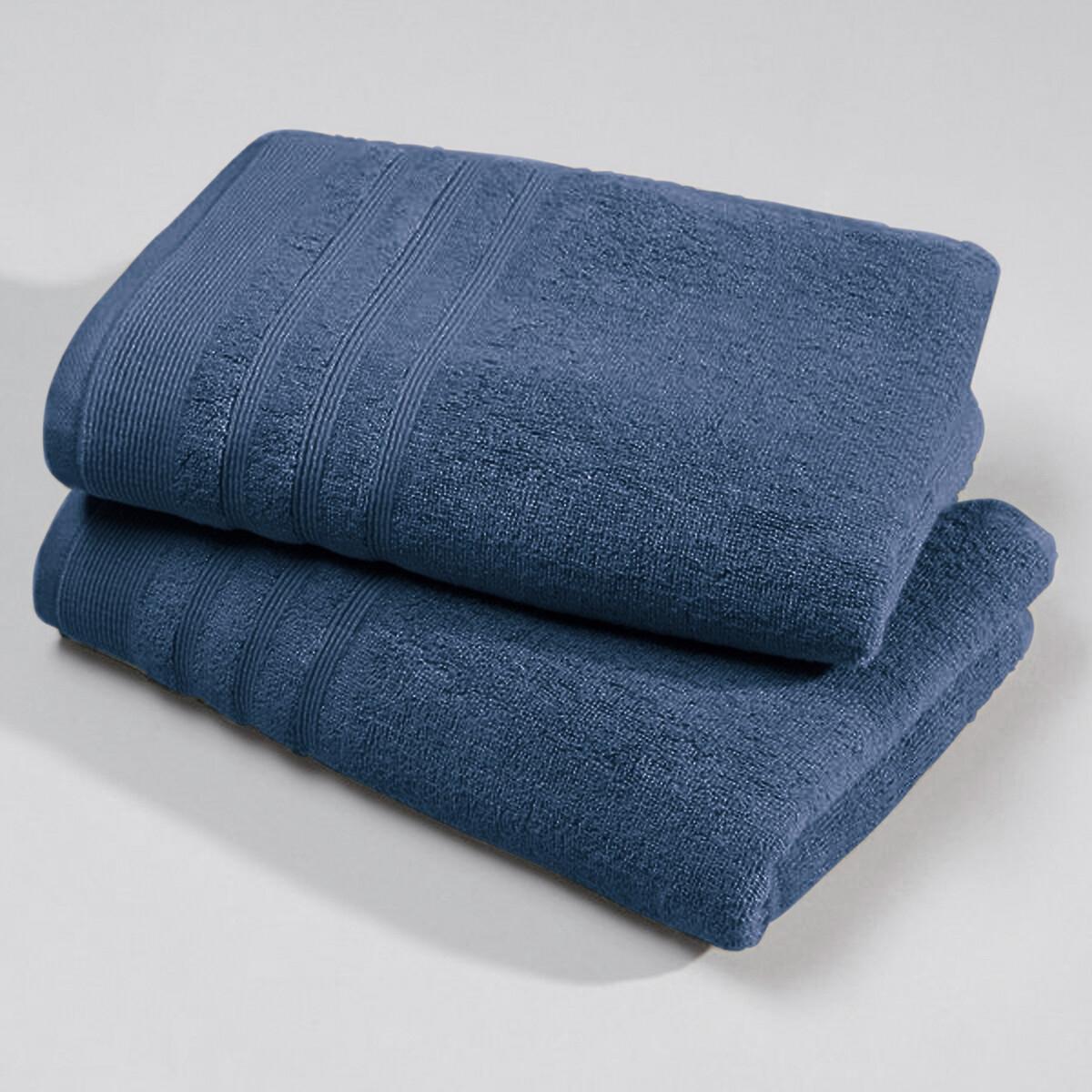 Lote de 2 toalhas em turco 600 g/m²